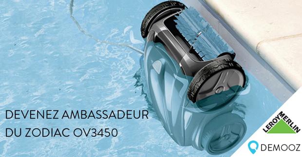 Demooz : test du nettoyeur de piscine Zodiac