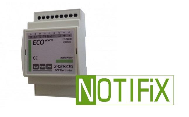 Notifix : Historique et notification pour Eco-devices