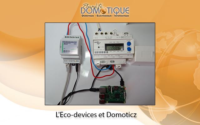 Relevé de la télé-information sur Domoticz grâce à un Eco-devices