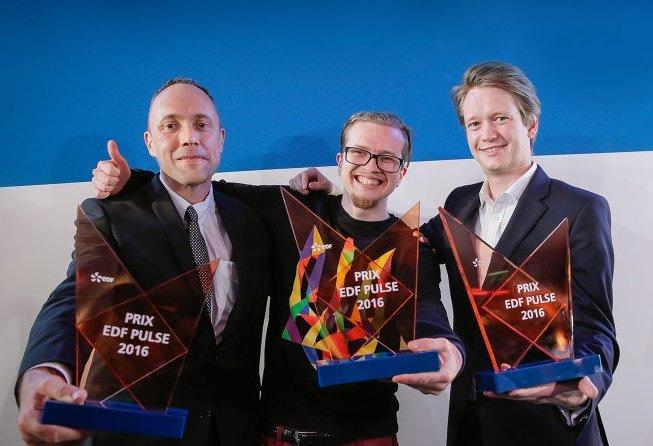 EDF Pulse 2016 : l'innovation est récompensée par trois laureats