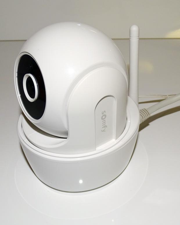 Caméra Visidom ICM100 branchée