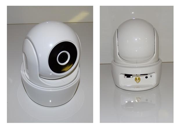 Visidom ICM100 : détails de la caméra