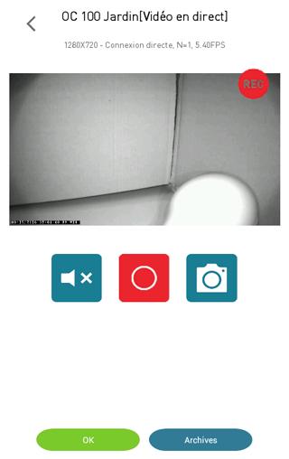 Caméra Visidom : test de la vision nocturne