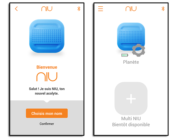 Application du bouton NIU de Nodon : Ajout initial