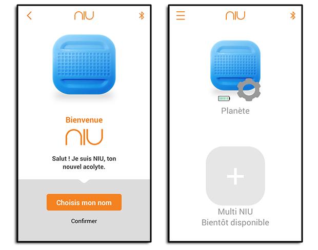 Application du bouton NIU de Nodon : Ajout initial