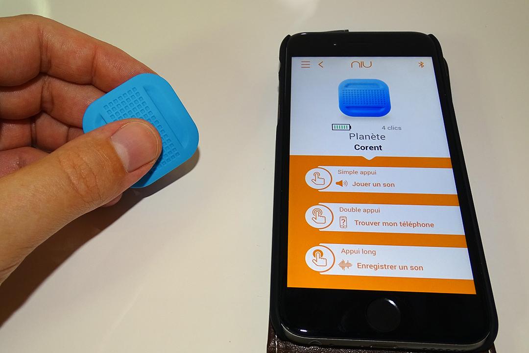 NIU, le bouton Bluetooth compagnon de votre Smartphone