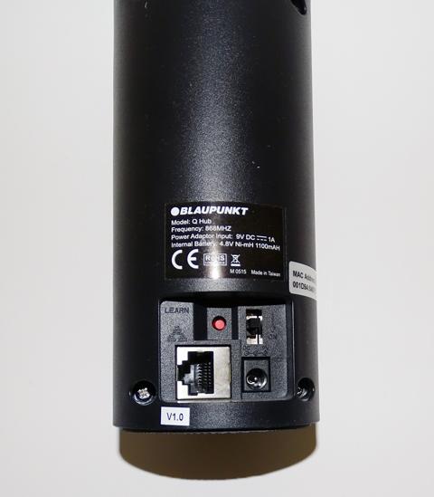 Blaupunkt Q3200 : dos de la centrale