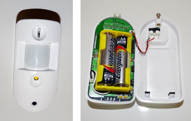 Blaupunkt Q3200 intérieur du détecteur de mouvemement
