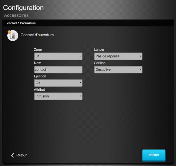 Blaupunkt Q3200 Configuration d'un accessoire