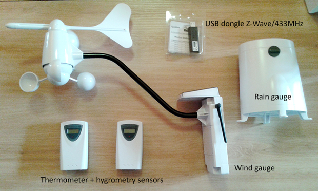 Components of Qubino Weather Station