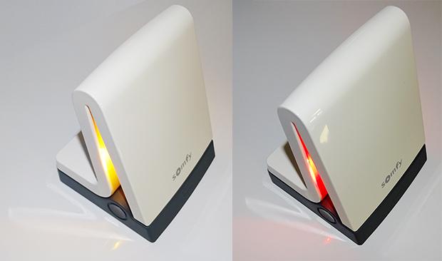 TaHoma Serenity - présentation des LEDs