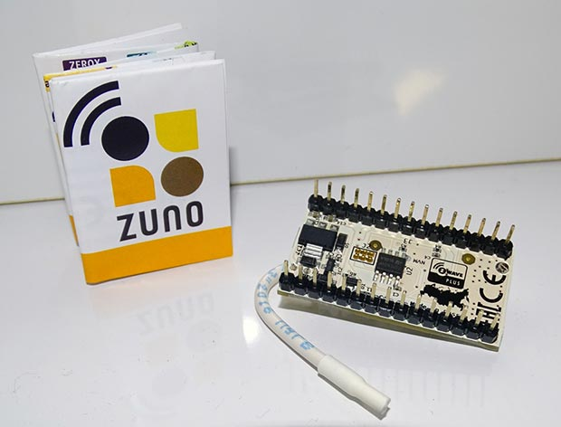 ZUNO : présentation de la carte