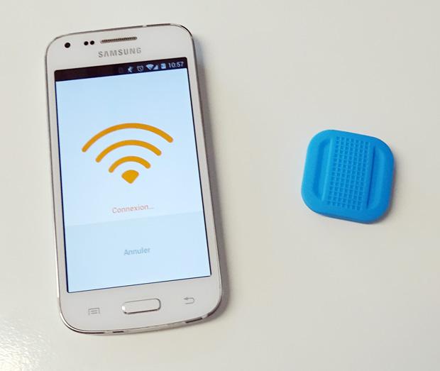 Association Bluetooth du Bouton NIU