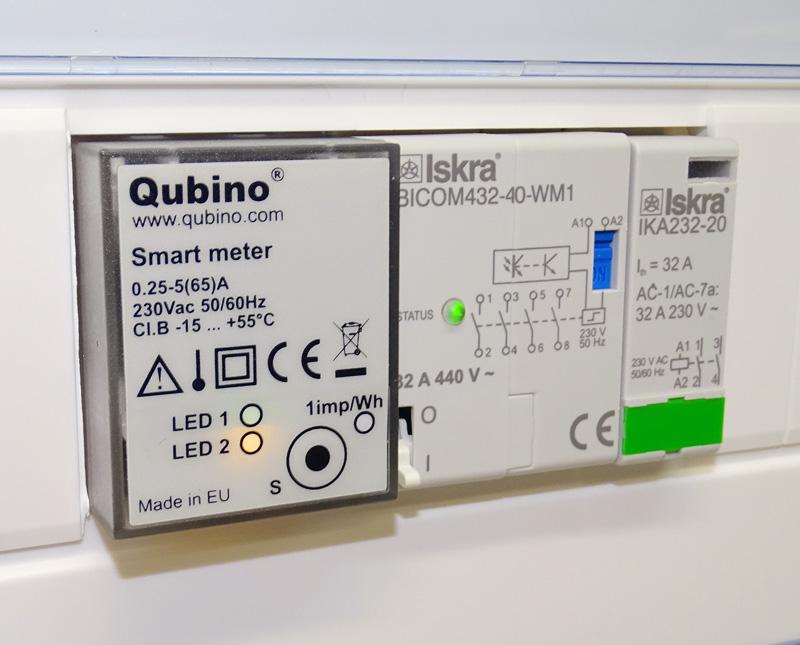 Smart Meter Qubino Z-Wave : mesure d'énergie et délestage