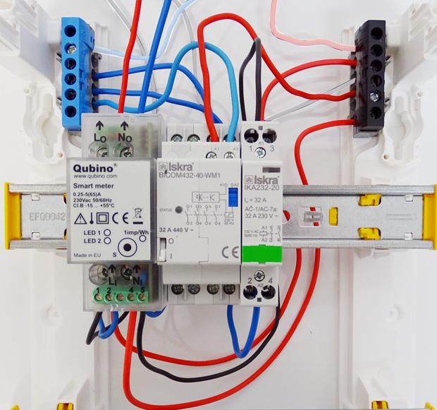 Smart Meter : branchements complets