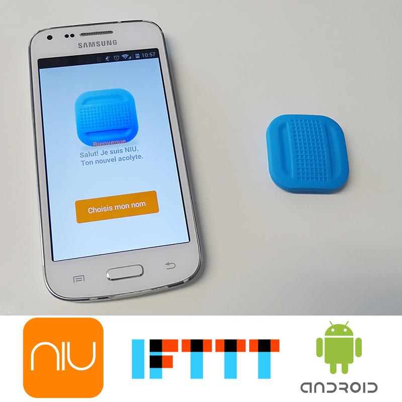 Le bouton NIU de NodOn compatible avec Android et IFTTT