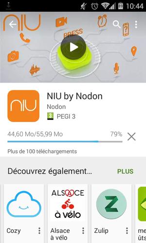 NIU de NodOn, téléchargement sur Android