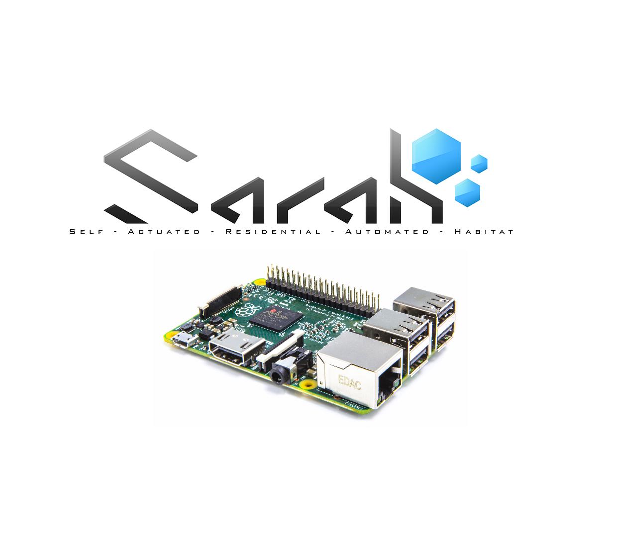 Installation du serveur de commande vocale SARAH