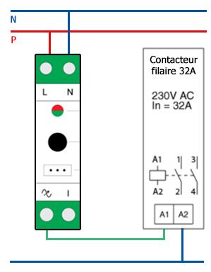Utiliser le module rail DIN de Qubino avec un relais de puissance