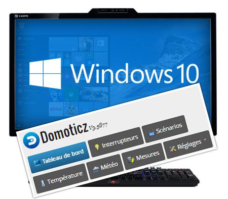 Gérer ma domotique avec Domoticz sous Windows, installation du logiciel