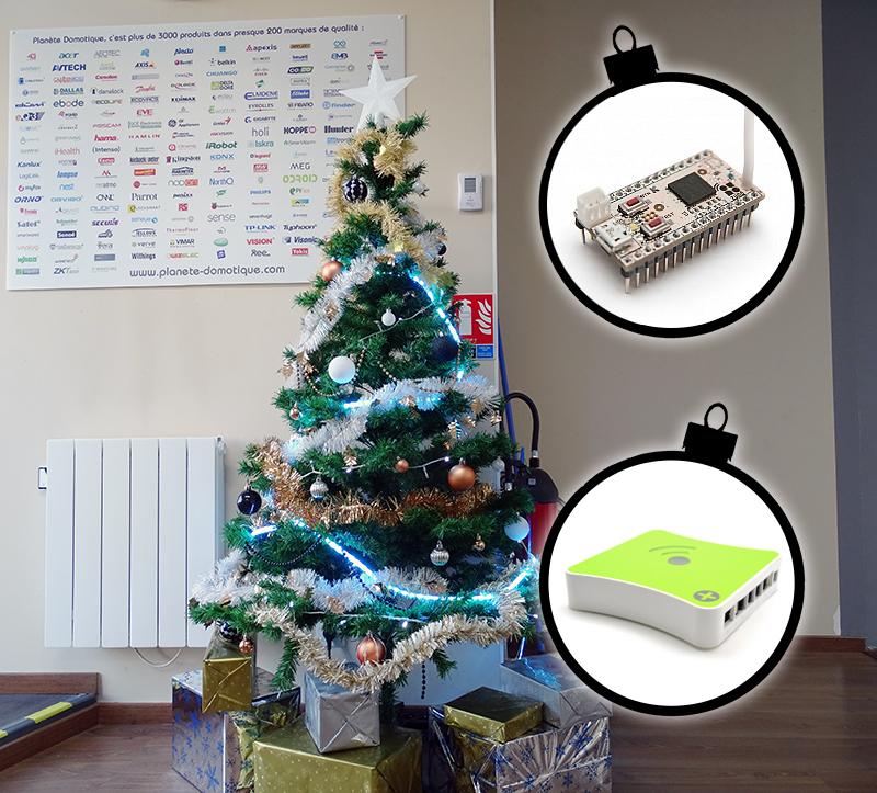 Le sapin de Noël domotique en Z-Wave ou 433 MHz