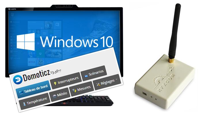 Gérer ma domotique avec Domoticz sous Windows : installation d'un module RFXCom