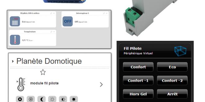 prise en charge du module fil pilote qubino sur diff rentes solutions. Black Bedroom Furniture Sets. Home Design Ideas