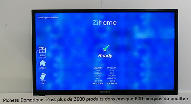 Bbox Miami et ZiHome : écran de ZiHome