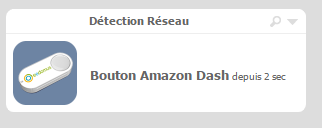 Amazon Dash sur l'eedomus
