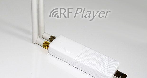 Vue du RFPlayer