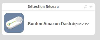 Amazon Dash dans le détecteur DHCP de l'eedomus