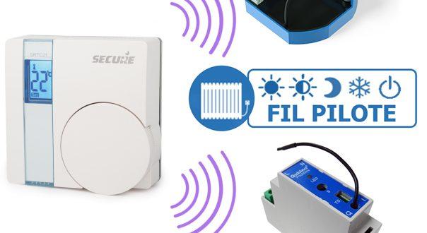 piloter des modules fil pilote qubino avec un thermostat mural z wave secure srt321. Black Bedroom Furniture Sets. Home Design Ideas