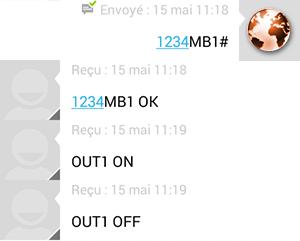 Module Orno GSM : exemple du mode 2