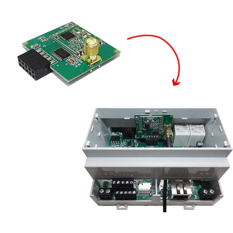 Installation & configuration du récepteur 868MHz pour serveur WES