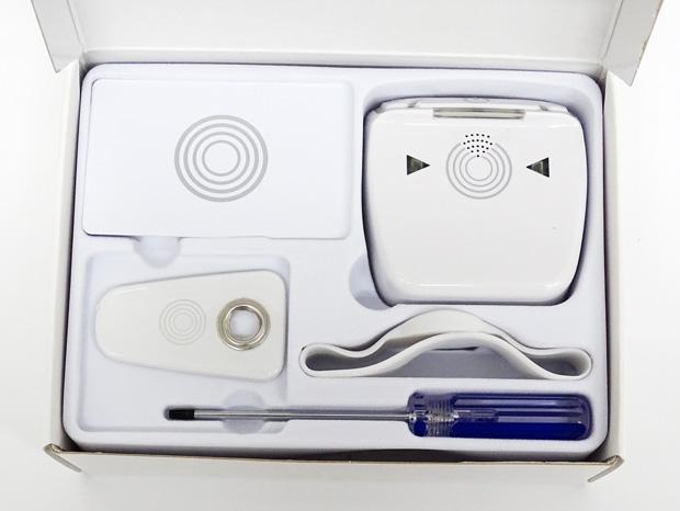 Unboxing du lecteur RFID pour serrure connectée