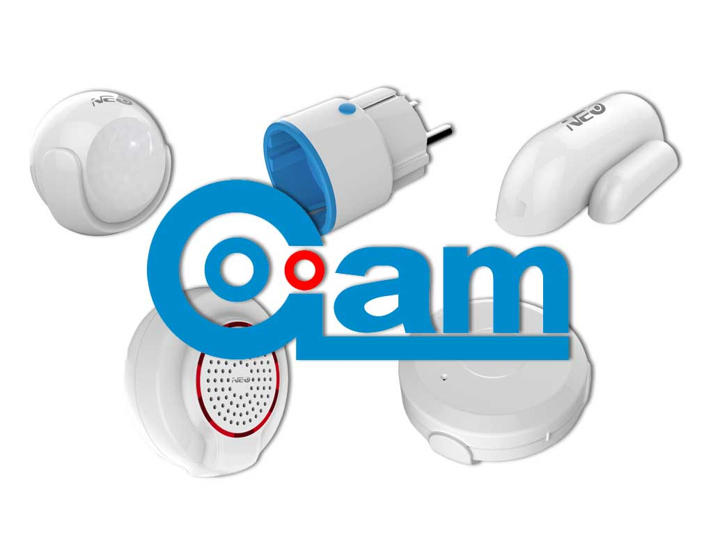 La nouvelle gamme de produits Zwave NEO CoolCam