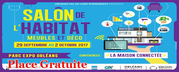 Concours places pour le salon de l 39 habitat ville for Salon de l agriculture 2017 billet gratuit