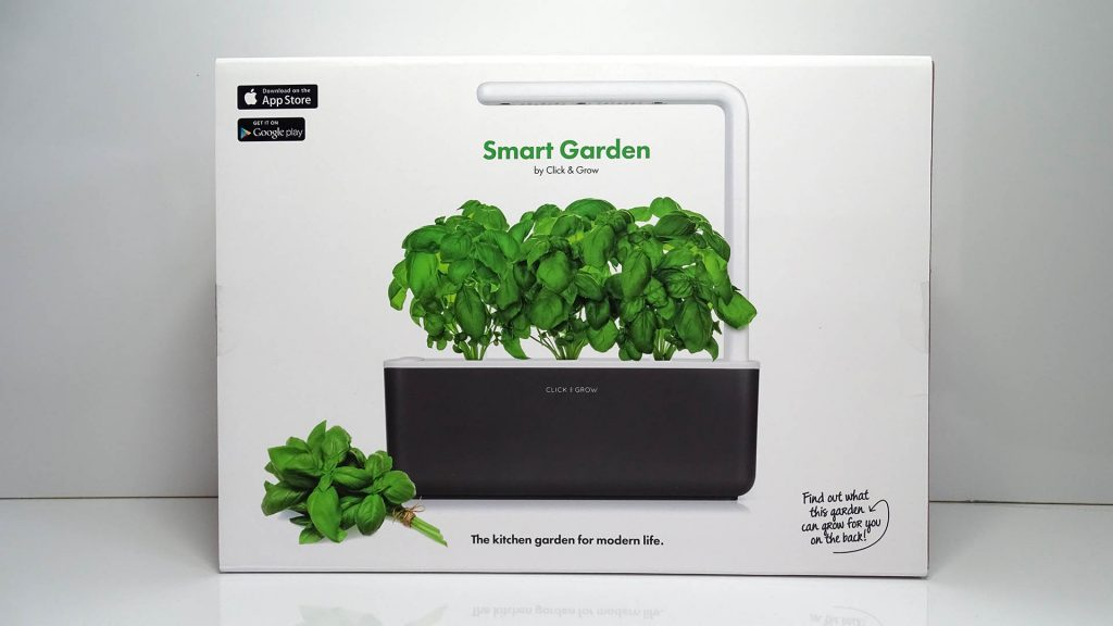 Test du Jardin connecté : Smart Garden de Click and Grow