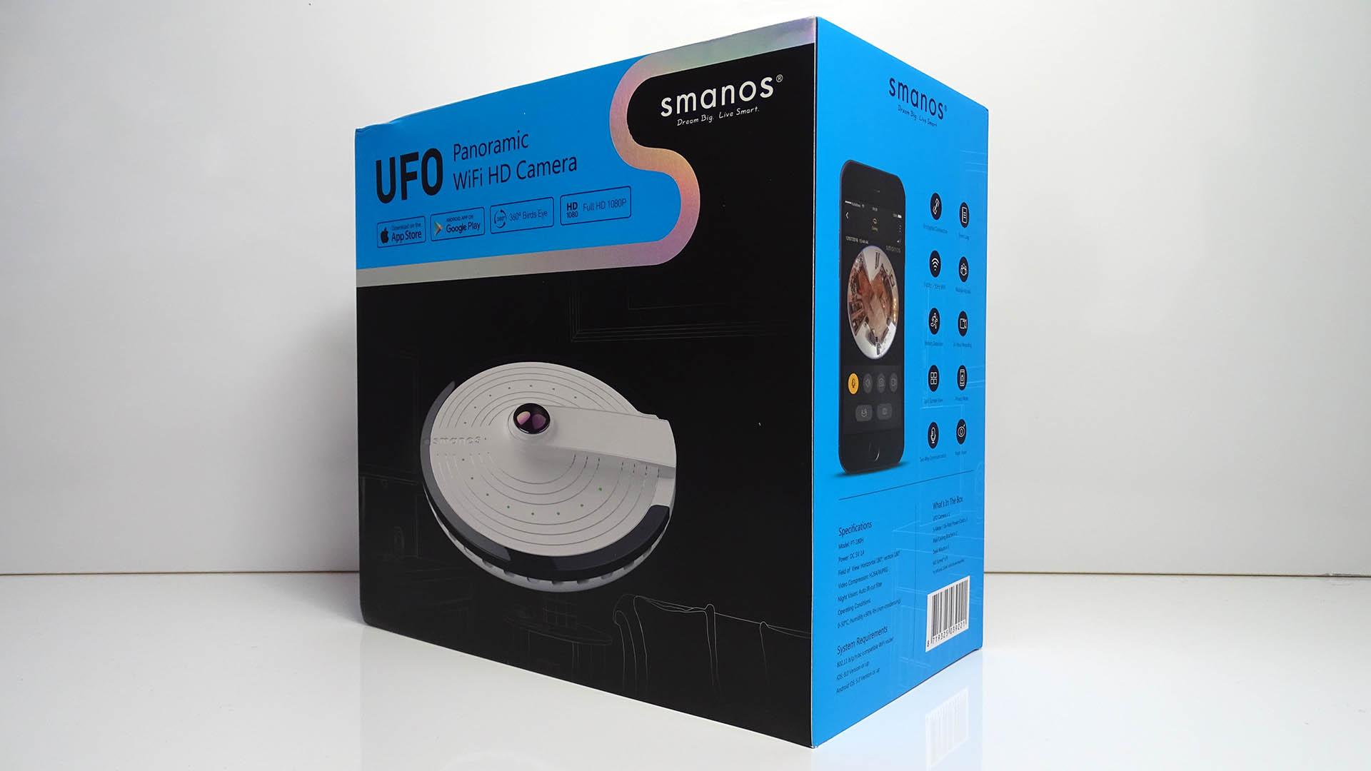 Caméra WiFi panoramique de Smanos