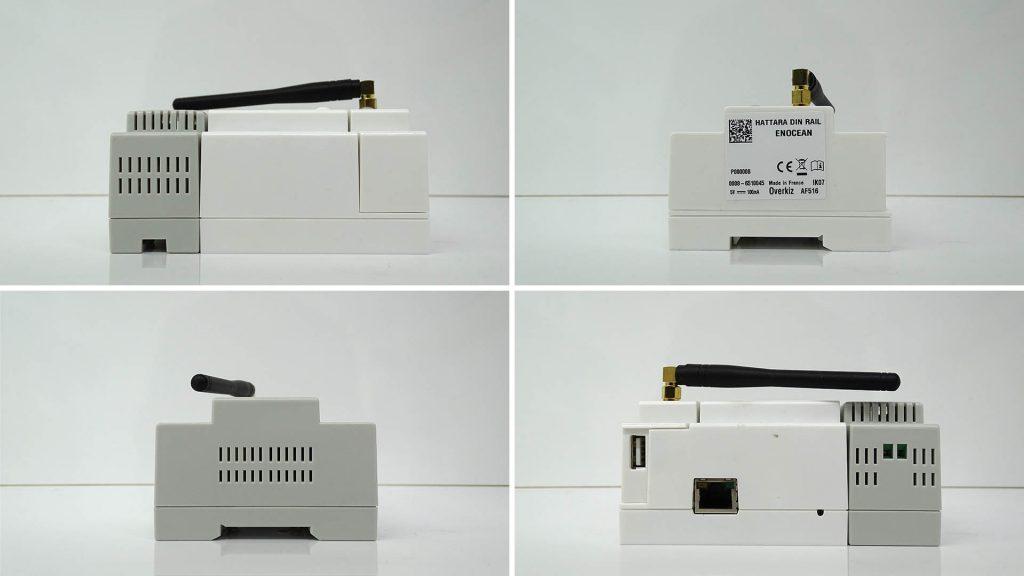 Découverte de la Wizzbox, une box domotique EnOcean au format DIN
