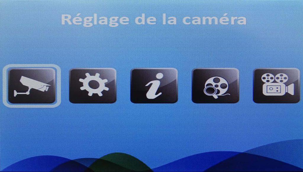 Interface du système