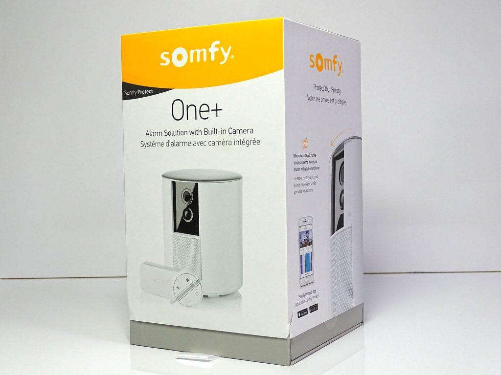 Découverte de la Somfy One+, la caméra tout-en-un