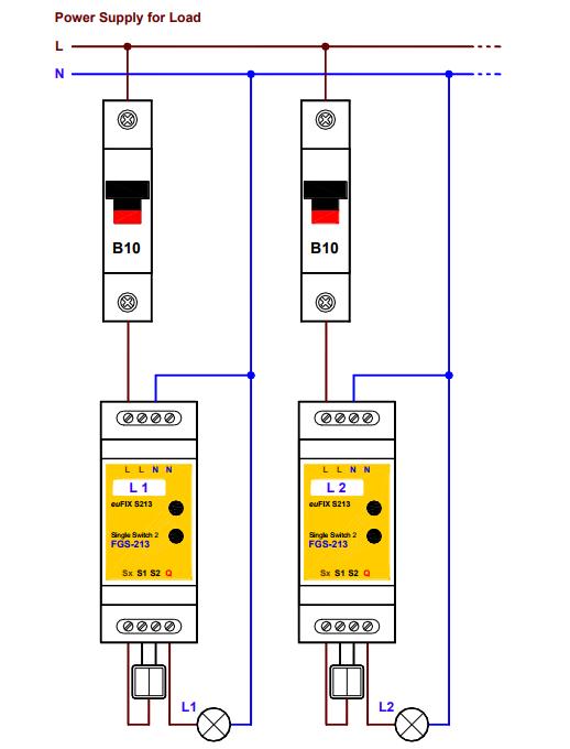 Schéma adaptateur jaune