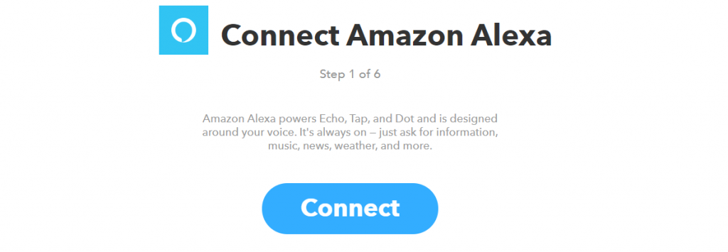 Se connecter à Amazon Echo