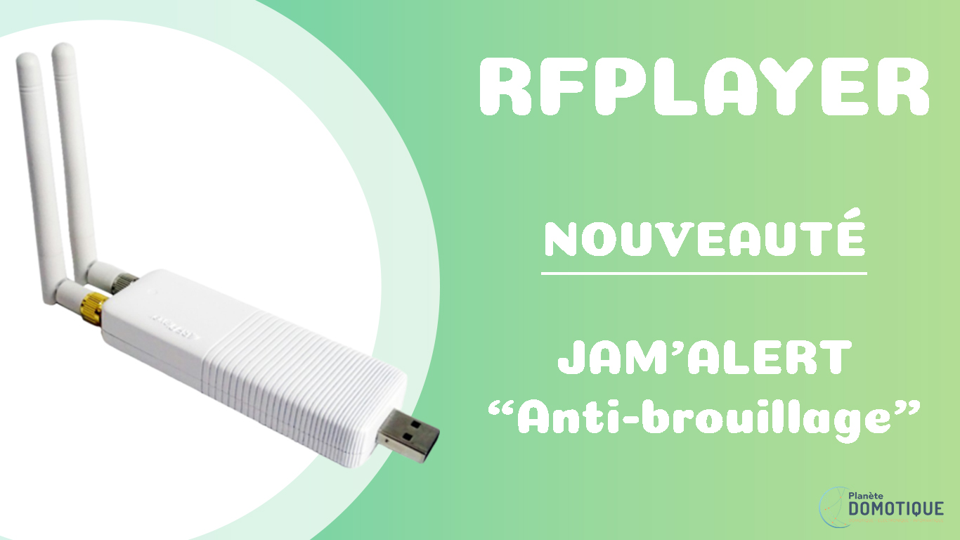 Jamming, la détection de brouillage maintenant sur le RFPlayer