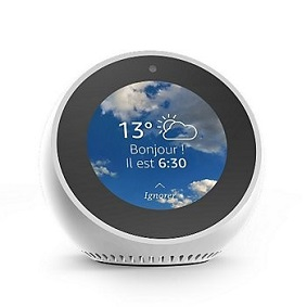 Amazon Echo Spot Blanc