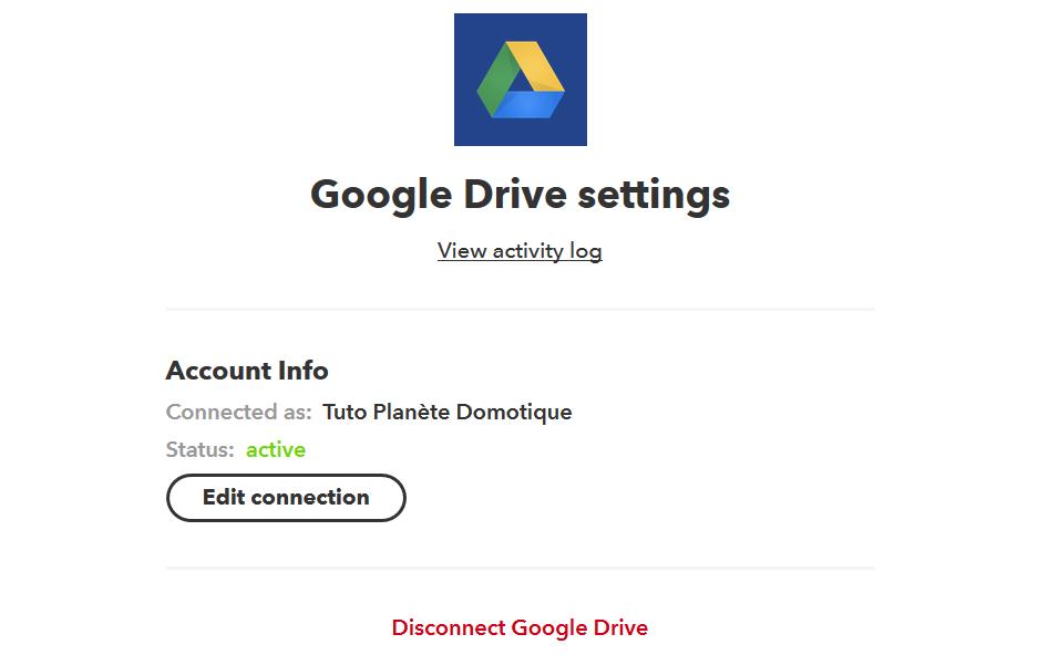 4 - Connexion Google
