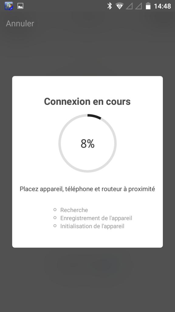 4 - Connexion...
