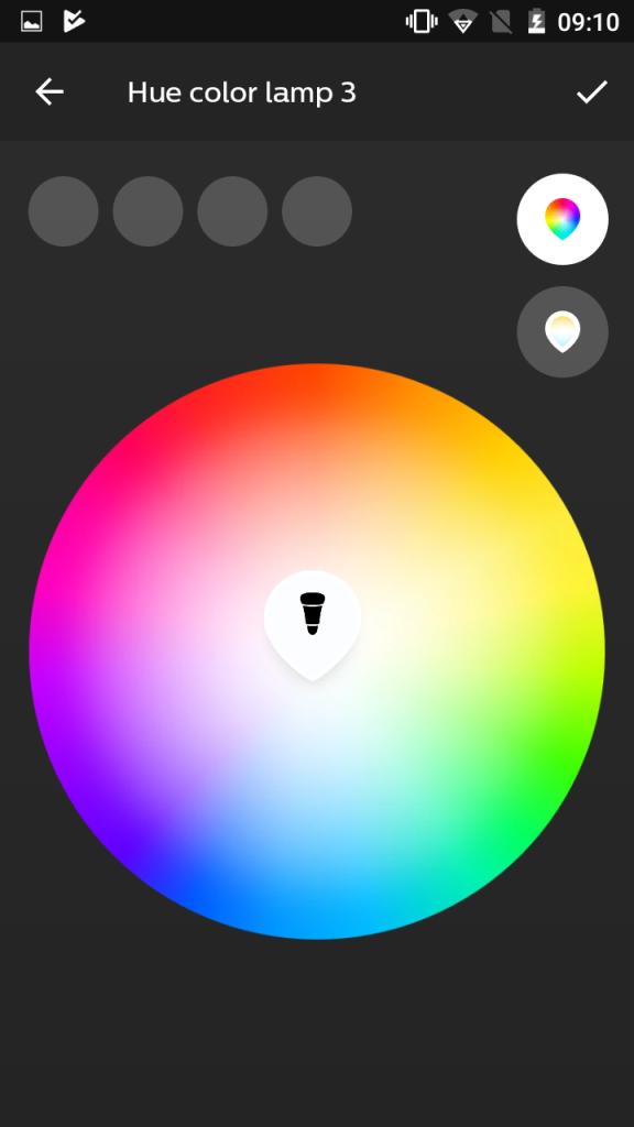 Personnalisation des couleurs