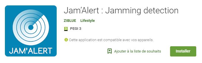 Installer Jam'Alert